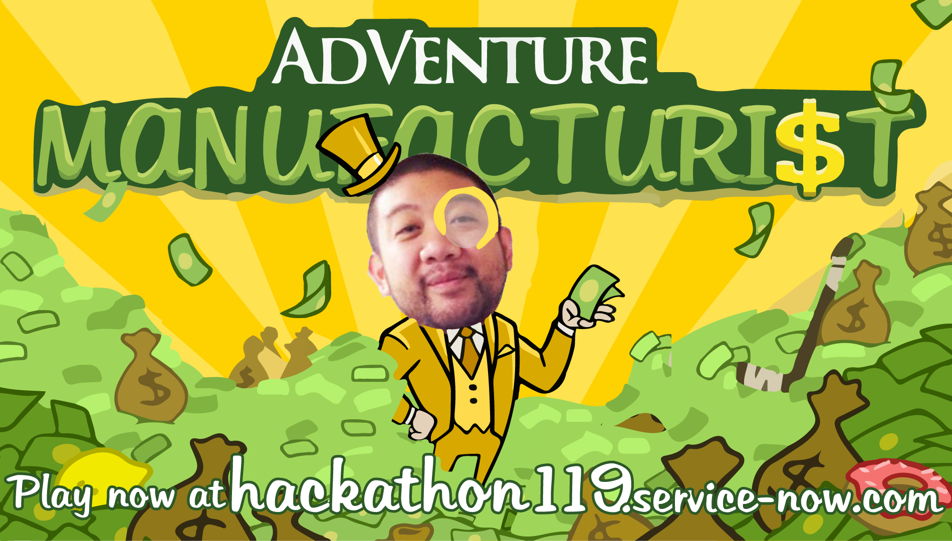 the AdVenture Capitalist logo but fitted for my app instead